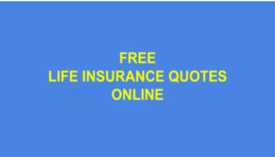 Life Insurance Quotes Online